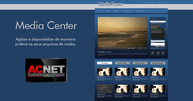 Solução Media Center