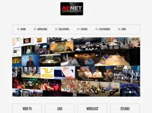 Site da AC Net traduzido para o inglês